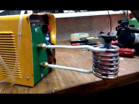Как из сварочного сделать индукционный нагреватель