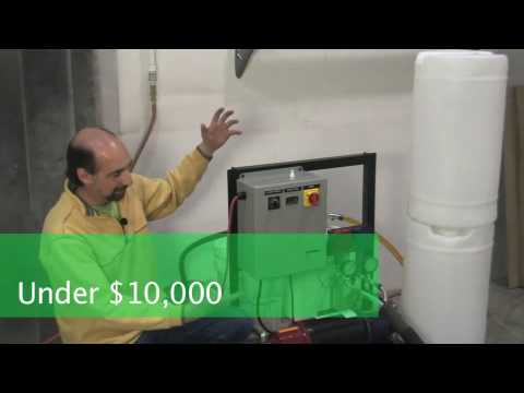 Spray foam installation system under $10,000