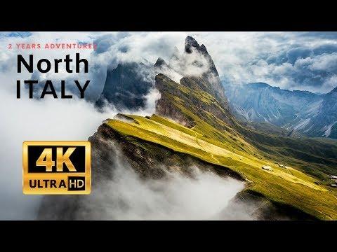 Os Dolomitas e a espetacular beleza do norte da Itália