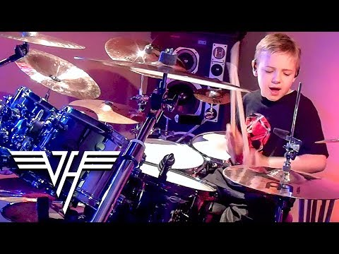 Amazing 7-year-old Drummer