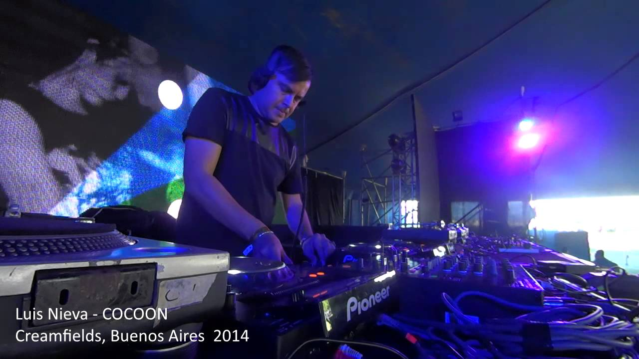 Luis Nieva - Live @ Creamfields 2014 Cocoon Stage