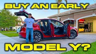 Should you buy an early Tesla Model Y? * Detailed Features, Fit, Finish and Paint Review by DragTimes