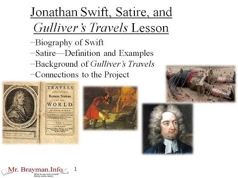 Gulliver's Travels Satire Usage