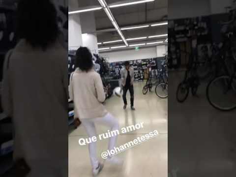 Felipe Anderson, sexy palleggi con Lohanne!