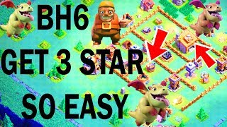 Builder Hall 6 Baby Dragon 3 star attack strategy in Clash of Clans! How to 3 Star EASY The Baby Dragon is enraged when no ...