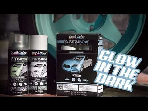 Dupli-Color Custom Wrap Glow in the Dark Removable Coating