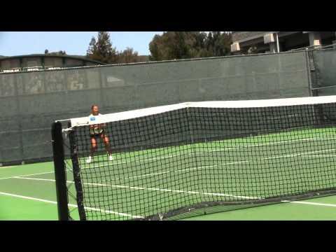 Cal Poly Women's Tennis versus Loyola Marymount Highlights (April 7, 2013)