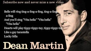 Dean Martin - That's Amore - Lyrics