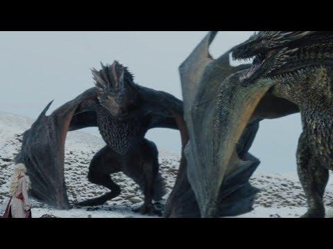 Dragons Scene Game of Thrones S8 E4 (FULL HD)