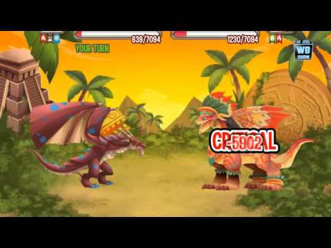 Dragon City: Aztec Warrior Quest Island Finished!
