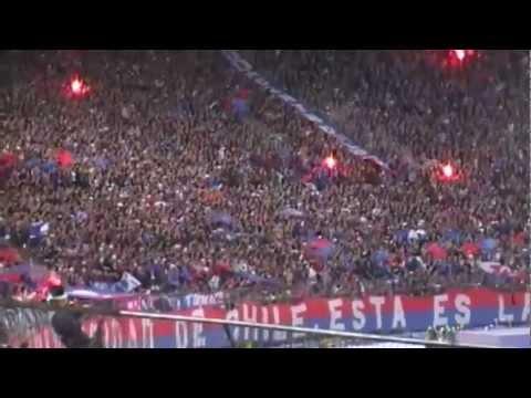 Video - Los de Abajo - Hinchada Chilena - Aliento Impresionante - Los de Abajo - Universidad de Chile - La U - Chile