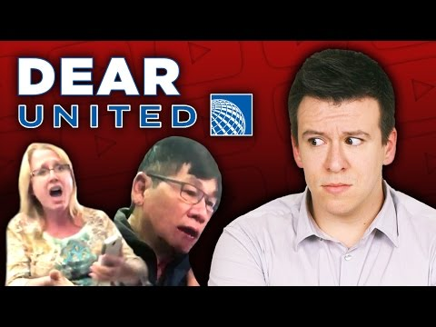WOW! Man Violently Thrown Off Plane Because United Overbooked Flight.