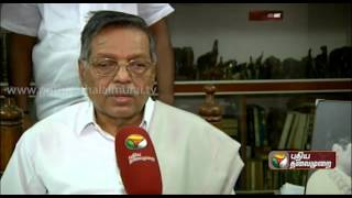 Exclusive Interview Of Panruti S. Ramachandran To Puthiya Thalaimurai Tv