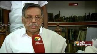 Exclusive Interview Of Panruti S. Ramachandran To Puthiya Thalaimurai Tv