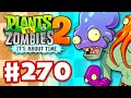 Plants vs. Zombies 2: It's About Time - Gameplay Walkthrough Part 270 - Big Wave Beach Part 2! (iOS)
