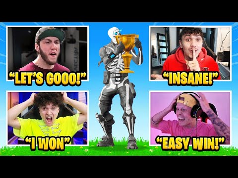FaZe Reacts to FaZe Jarvis Winning Friday Fortnite!!
