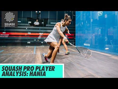 Squash Pro Player Analysis: Hania El Hammamy