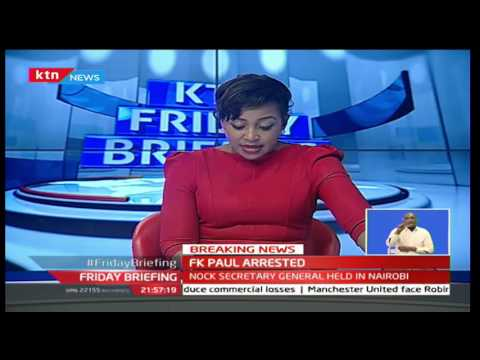 NOCK Secretary General FK Paul has been arrested in connection with NOCK's disbandment