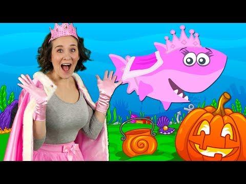 Halloween Baby Shark | Kids Songs and Nursery Rhymes | Halloween Songs from Bounce Patrol