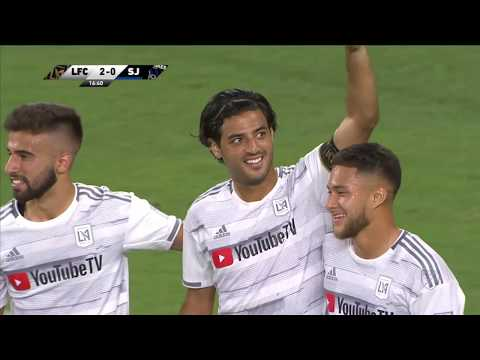 Video: LAFC vs. San Jose Earthquakes | HIGHLIGHTS - August 21, 2019