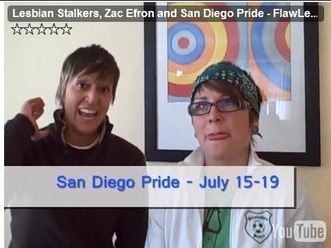 Lesbians, Stalkers & Zefron - FlawLes TV 9