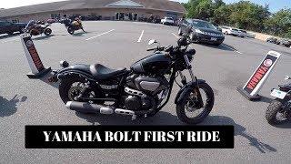 9. Yamaha BOLT First Ride