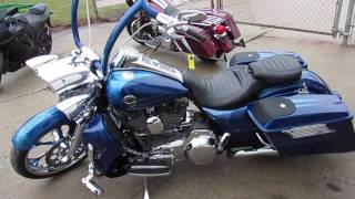 4. 2013 Harley Davidson Road King CVO FLHRSES For Sale $18,900 U3282