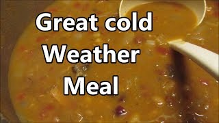 Bean soup with ham by Louisiana Cajun Recipes