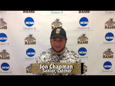 Jon Chapman- Framingham State Athlete of the Week- April 3rd 2016