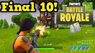 FORTNITE Battle Royale Xbox One X - I'M BACK!