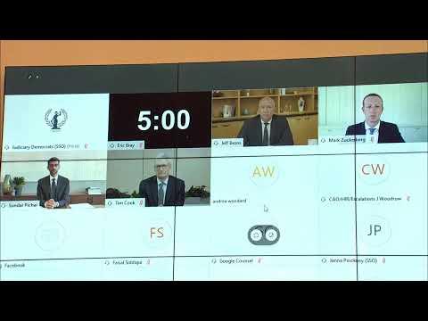 Big Tech CEOs Face Antitrust Hearing In Congress