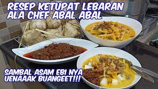 Video RESEP KETUPAT LEBARAN. POKOKNYA LEZAAATTT!!! MP3, 3GP, MP4, WEBM, AVI, FLV April 2019