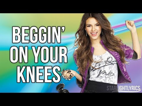 Victorious - Beggin' On Your Knees (Lyric Video) HD