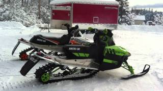 8. 2011 & 2010 Arctic Cat Crossfire 800 Sno Pro Review Eddie Vegas