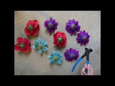 How to Make a DIY Flower Crown for Day of the Dead