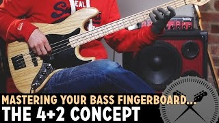 Video How to Master Your Bass Fretboard - The 4+2 Positioning Concept /// Bass Lesson with Scott Devine MP3, 3GP, MP4, WEBM, AVI, FLV November 2018