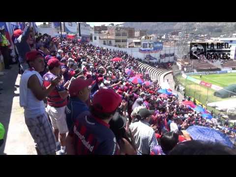 Cantos de la hinchada del Quito en Ambato - Mafia Azul Grana - Deportivo Quito