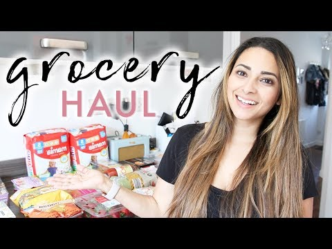WHAT I FEED MY FUSSY EATER TODDLER | ALDI GROCERY HAUL UK - MAY 2018 | Ysis Lorenna