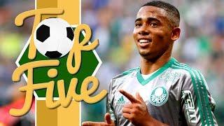 Top 5 amazing goals scored by Man City's new signing Gabriel Jesus during his time at Palmeiras (BRA). Melhores gols do Atacante Gabriel Jesus de 19 anos de ...