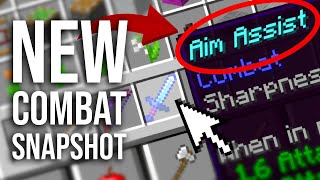 Combat Snapshot v5: Everything New! Aim Assist, Swords, Food, and more (Snapshot Review)