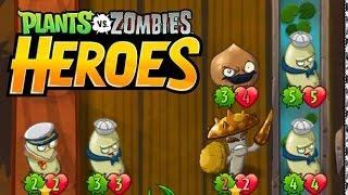 Plants vs Zombies Heroes Walkthrough 87 BEAN Power I, EA Games, video games