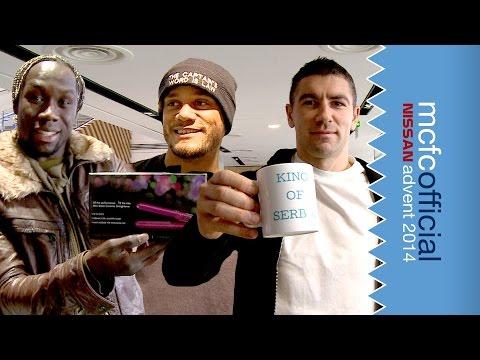 Video: King of Serbia & Straighteners | Man City Advent Calendar | Day Twenty Two