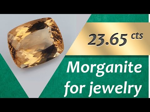 Morganite Jewelry: Design Unique Jewelry with Morganite 23.65 Carat
