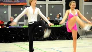 Annalena Neuner & Tobias Bahe - Böblinger Herbstmeisterschaft 2010