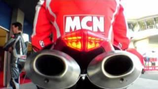 8. Ducati 1098R first ride