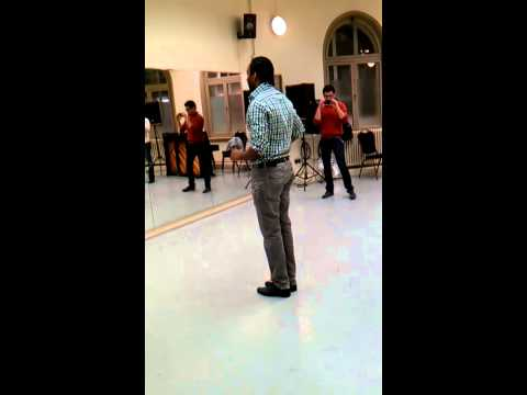 Dani K  salsa FOOTWORK APRIL 2013 (@ CITY ACADEMY DANCE SCHOOL)
