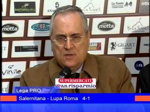 le interviste post salernitana - lupa roma
