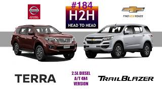 Video H2H #184 Nissan TERRA vs Chevrolet TRAILBLAZER MP3, 3GP, MP4, WEBM, AVI, FLV Desember 2018