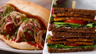 Vegetarian Sandwiches 4 Ways by Tasty