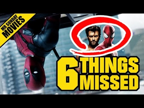 6 Things You May Have Missed in the Second Deadpool
